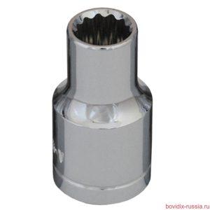 """Торцевая головка 1/2"""" Bovidix, 8 мм"""