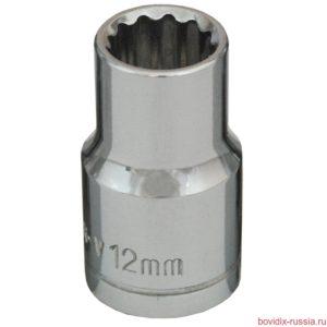 """Торцевая головка 1/2"""" Bovidix, 12 мм"""