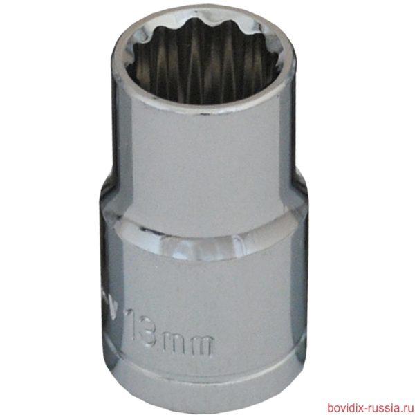 """Торцевая головка 1/2"""" Bovidix, 13 мм"""