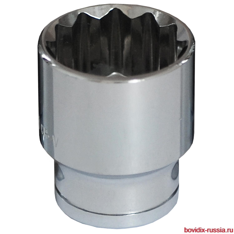 """Торцевая головка 1/2"""" Bovidix, 28 мм"""