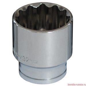 """Торцевая головка 1/2"""" Bovidix, 32 мм"""