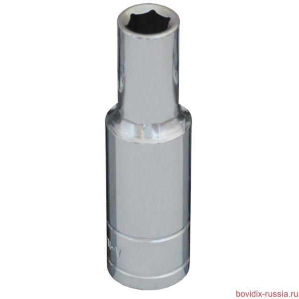 """Удлиненная торцевая головка 1/2"""" Bovidix, 6 граней, 8 мм"""