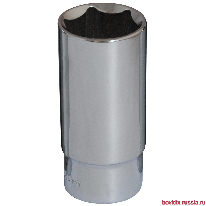"""Удлиненная торцевая головка 1/2"""" Bovidix, 6 граней, 19 мм"""