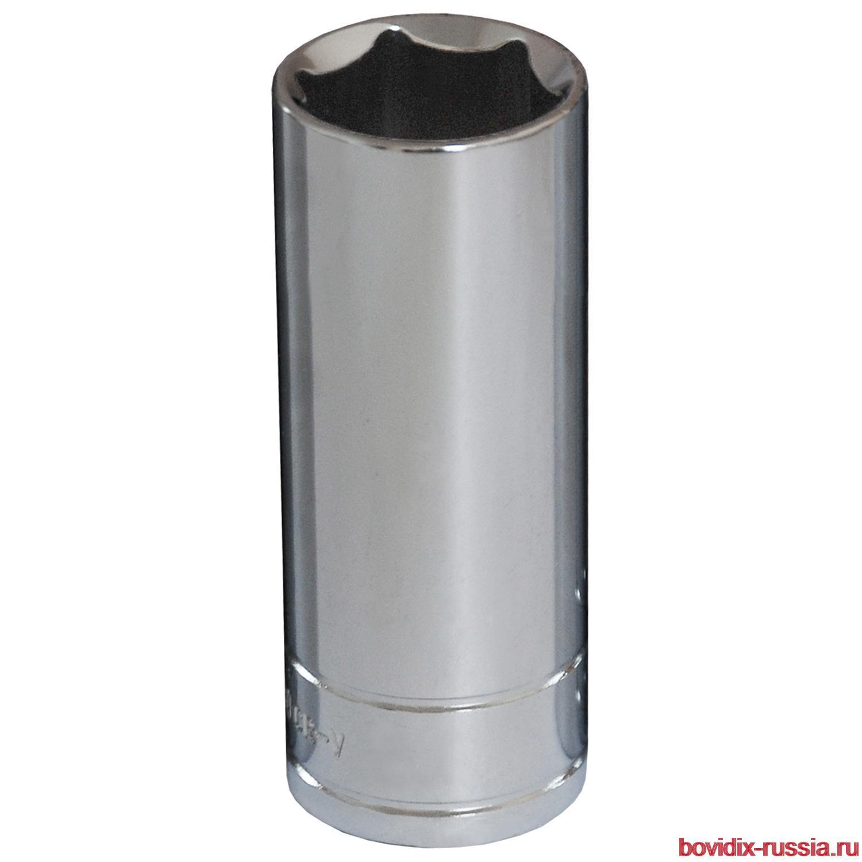 """Удлиненная торцевая головка 1/2"""" Bovidix, 6 граней, 24 мм"""