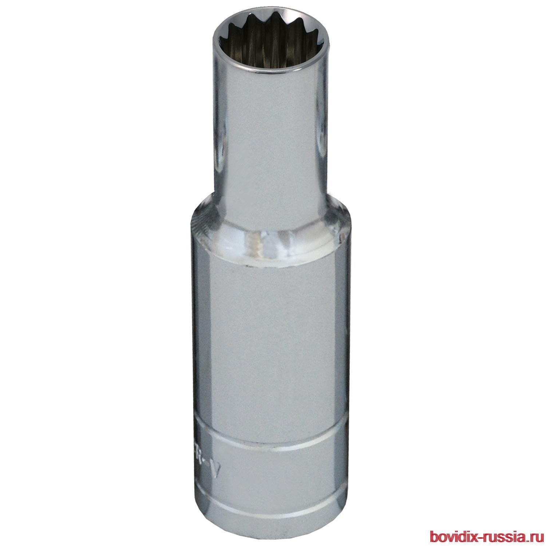 """Удлиненная торцевая головка 1/2"""" Bovidix, 8 мм"""