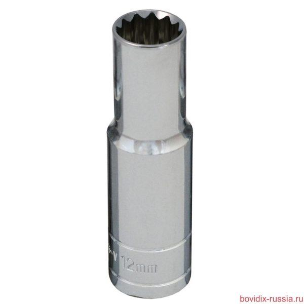 """Удлиненная торцевая головка 1/2"""" Bovidix, 30 мм"""