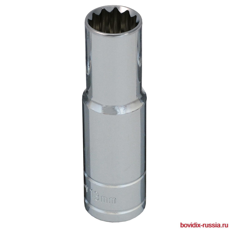 """Удлиненная торцевая головка 1/2"""" Bovidix, 13 мм"""