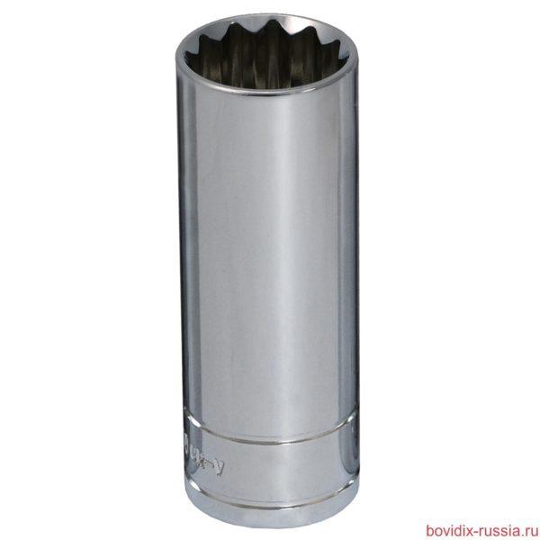 """Удлиненная торцевая головка 1/2"""" Bovidix, 19 мм"""