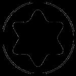 Шлиц типа Torx (T, TX) шестигранный
