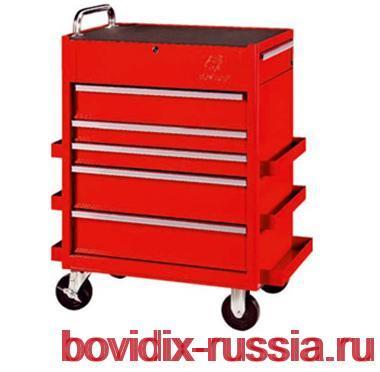 Инструментальная тележка на колесах: система хранения инструмента Multibox®
