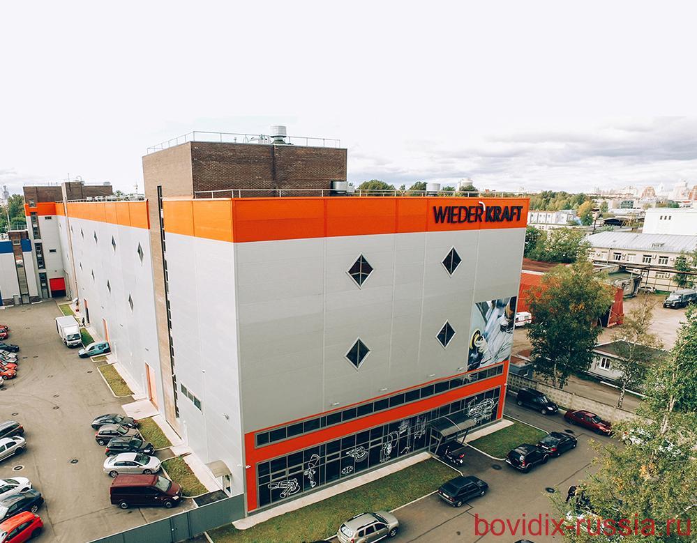 WiederKraft. Офис, центральный склад и сервис-центр в Санкт-Петербурге