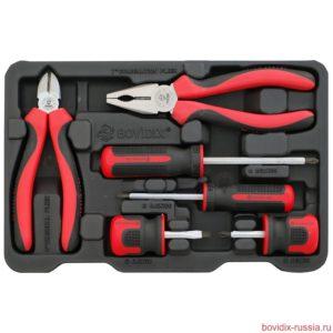 Универсальный набор ручного инструмента Bovidix в ложементе