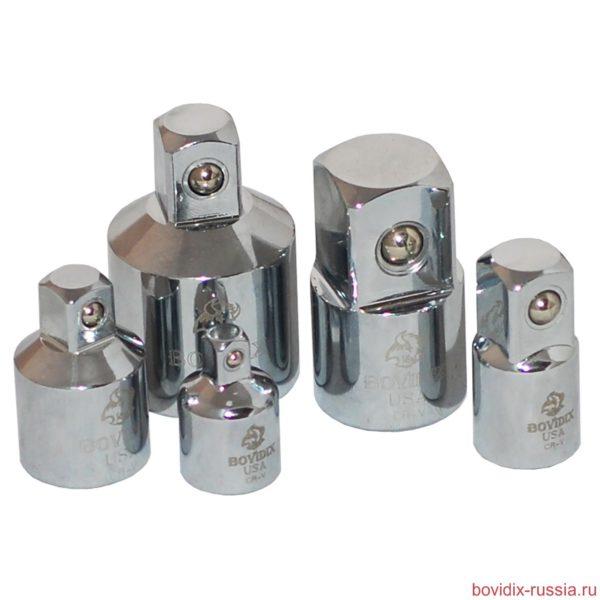 Набор адаптеров (5 предметов) Bovidix из хромо-ванадиевой стали (Cr-V)