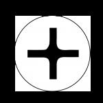 Крепежные элементы с крестообразным шлицем